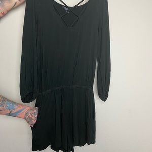 American Eagle romper with pockets!